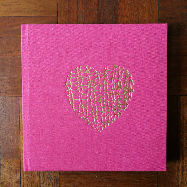 New Embossed Notebook by Adelle Hickey - Square
