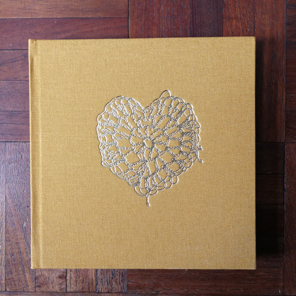 Embossed Notebook by Adelle Hickey - Square