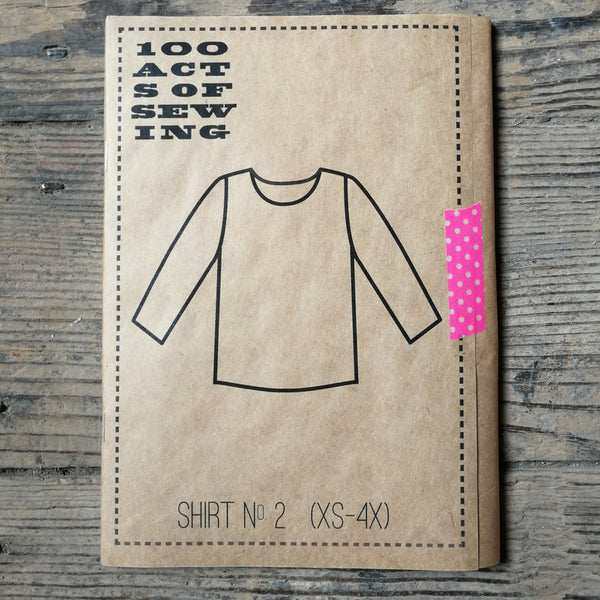 100 Acts of Sewing Patterns - Shirt No.2