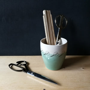 Scissors Pot by Christiane Kersten and Alison Milner