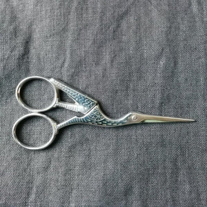 Ernest Wright Antique Stork Scissors