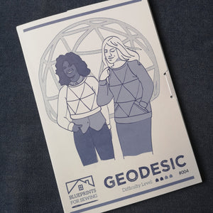 Blueprints for Sewing - Geodesic Paper Pattern