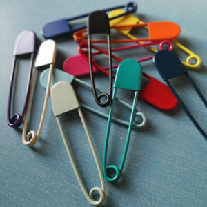 Giant Coloured Safety Pin