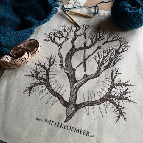 Organic Cotton Tote by Wieteke Opmeer