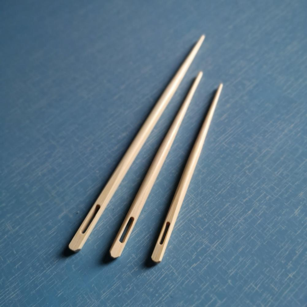 Bamboo Sewing Needles - set of 3