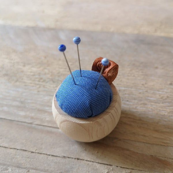 Cohana Cypress Wood Pincushion