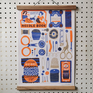 The Printed Peanut Sewing print