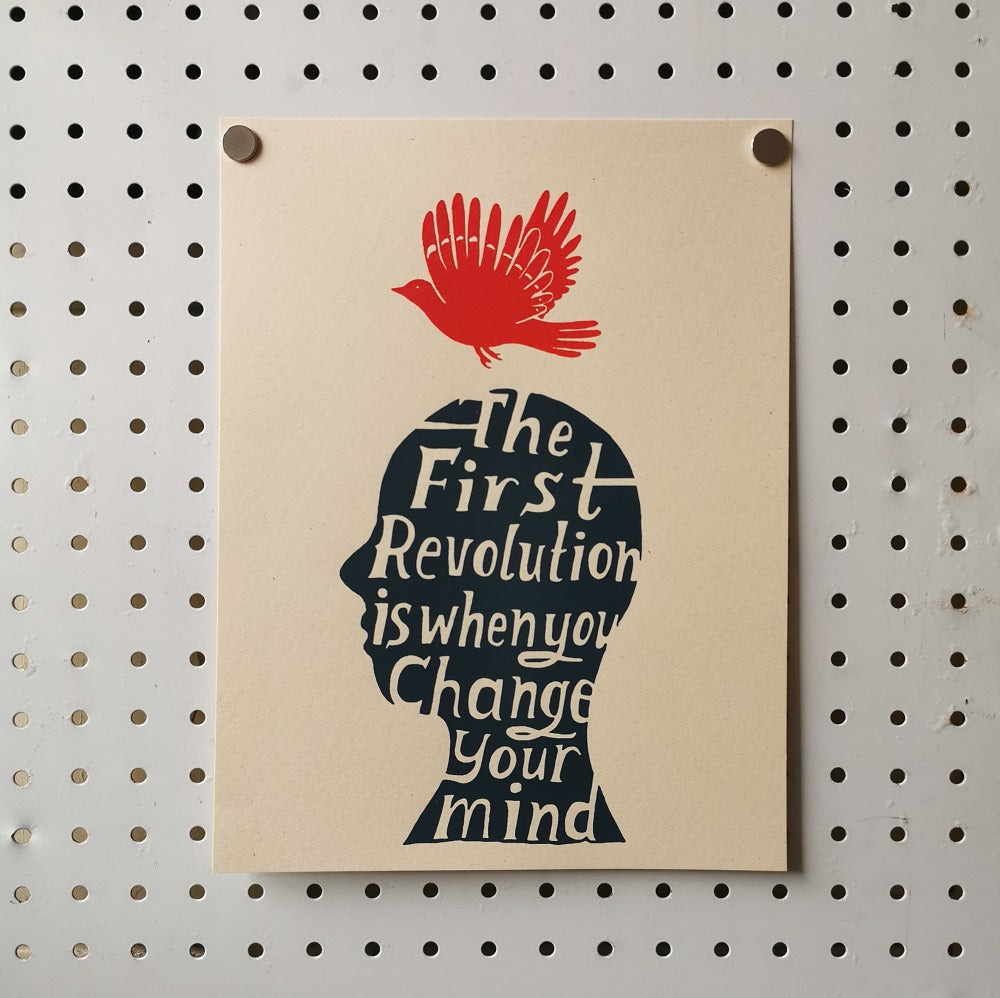 The Far Woods Print - The First Revolution