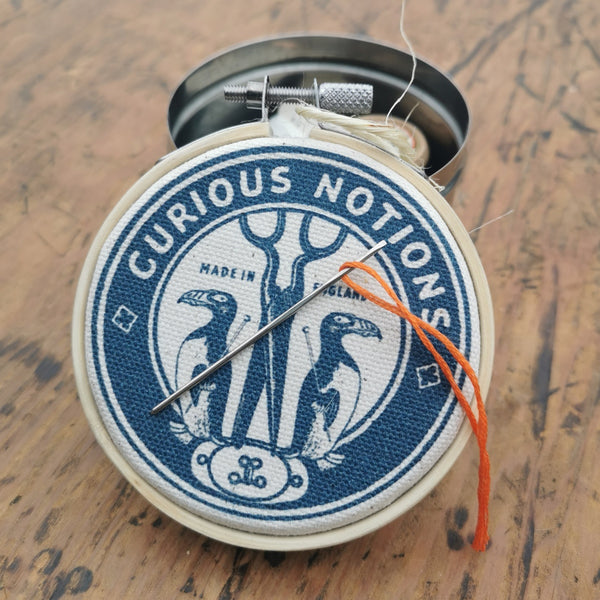 The Industrious Maker - magnetic storage tin
