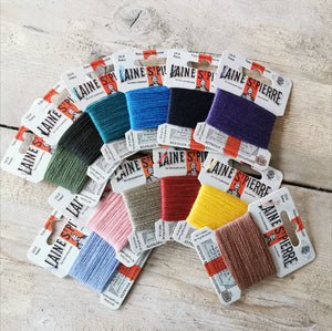 Sajou Laine St Pierre Darning Wool - selection box of 12