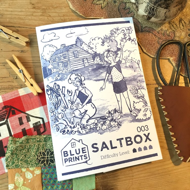 Blueprints for Sewing - Saltbox Paper Pattern