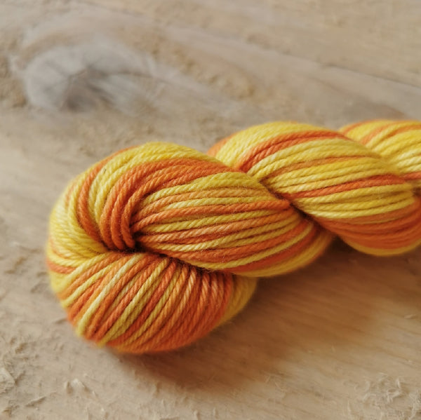 Maito plant dyed cotton thread