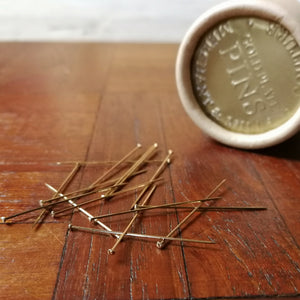 Merchant & Mills Couture Gold Pins
