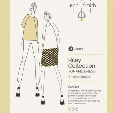 Jenni Smith Sewing Patterns - Riley Collection Top and Dress