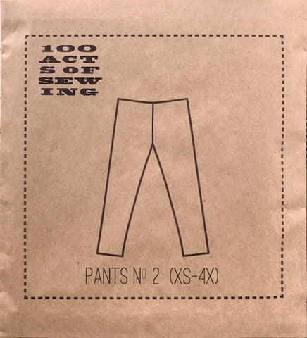 100 Acts of Sewing Patterns - Pants No. 2