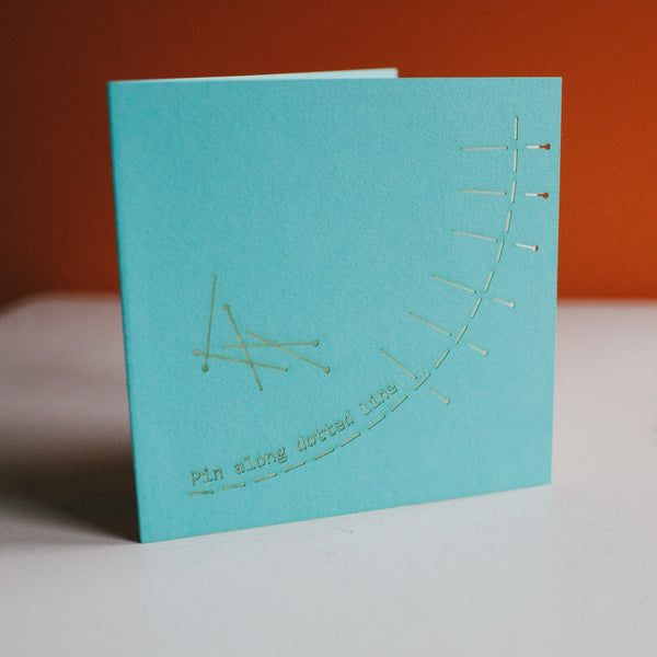 Laser Cut Greetings Cards - Needlework