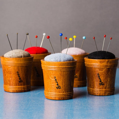 Sajou Wooden Pincushion