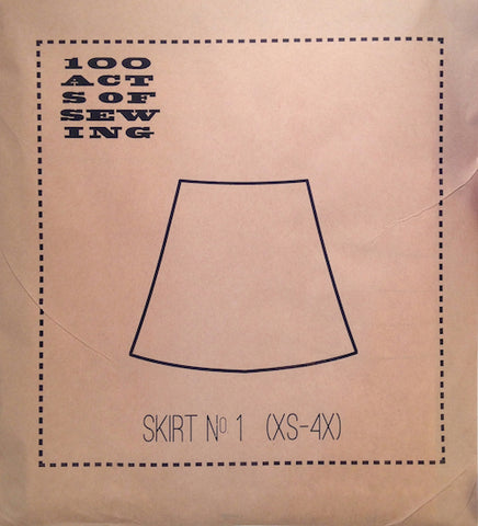 100 Acts of Sewing Patterns - Skirt No 1
