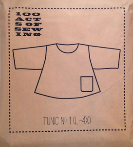 100 Acts of Sewing Patterns - Tunic No.1