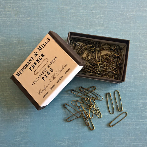 Merchant and Mills French Safety Pins