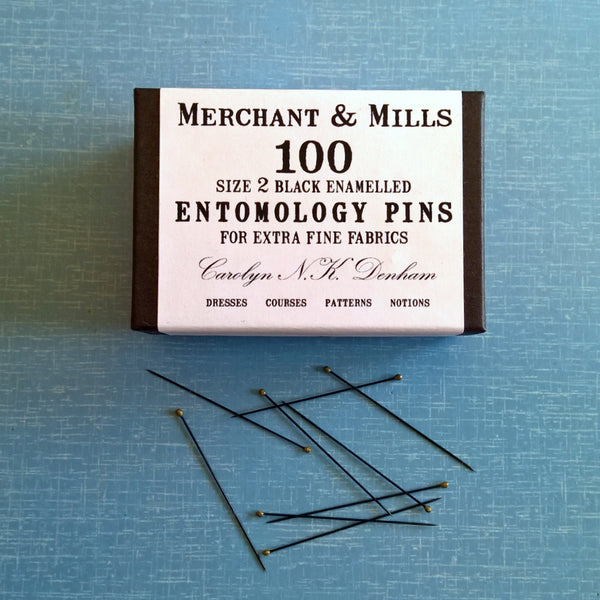 Merchant and Mills Entomology Pins