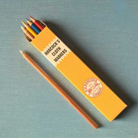 Hancock's Cloth Marking Pencils - single
