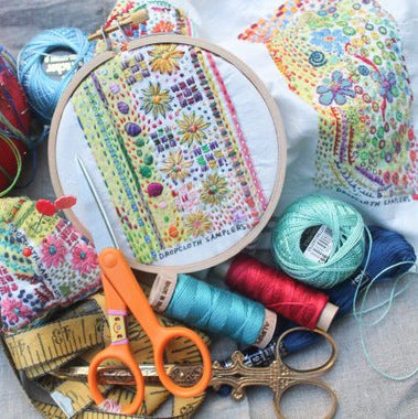 Dropcloth Sampler - Pincushions