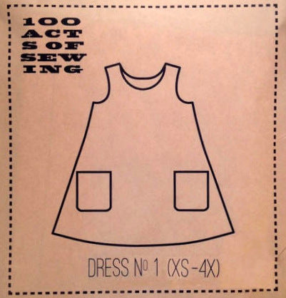 100 Acts of Sewing Patterns - Dress No.1