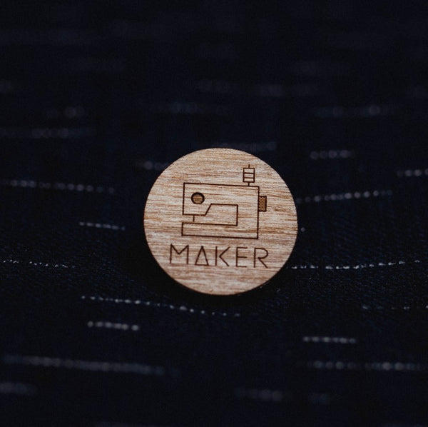 Arrow Mountain Maker Badge - Circle