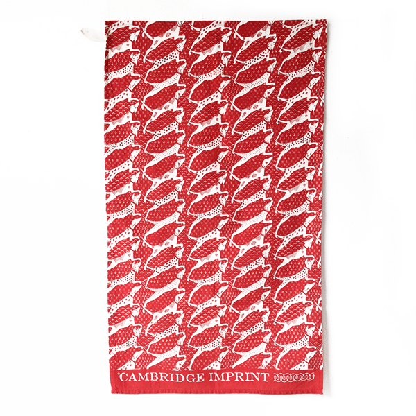 Cambridge Imprint Tea Towel