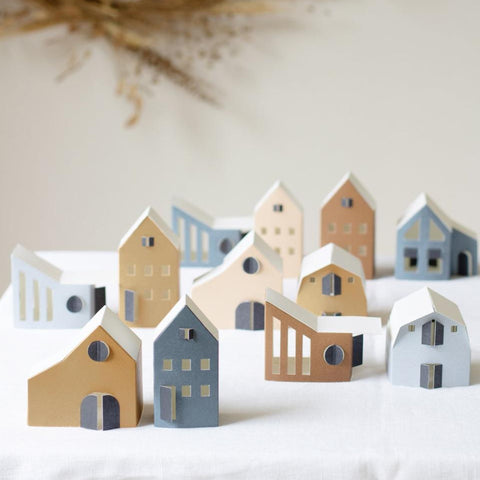 TUS  - Decorative Paper Houses