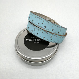 Leather Wrist Ruler - Coloured Leather