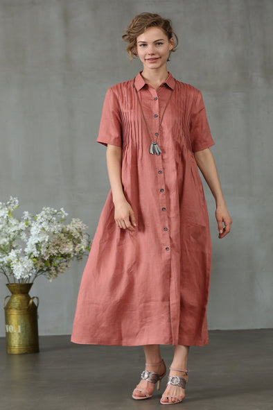 The Nior 19 | Linen Shirt Dress