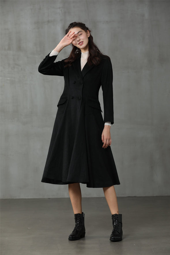 Roman Holiday 20 | Double Breasted Wool Coat
