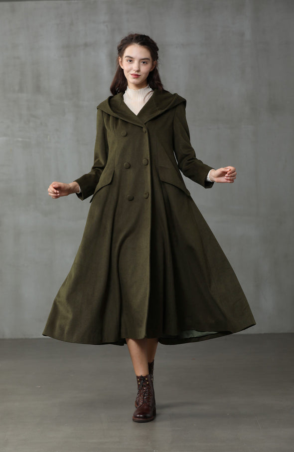 Casablanca 37 | Double Breasted Wool Coat