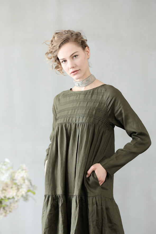 Daffodils 16 | Sage Green Dress