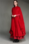 Léon 90 | Red wool coat