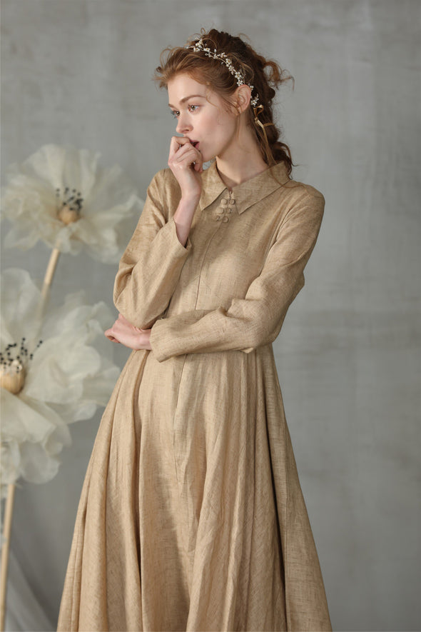 Edelweiss 31 | flared linen dress