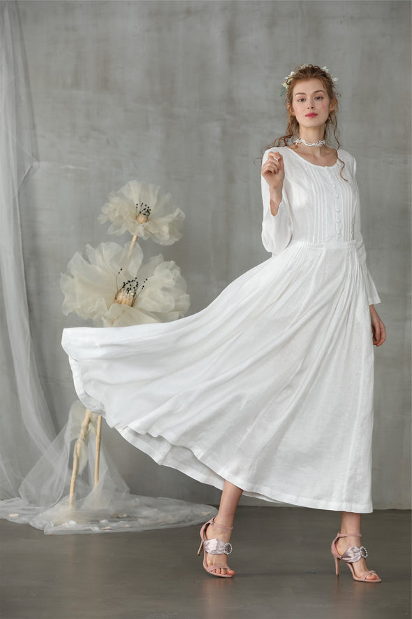 Vanilla 19 | linen luxury dress