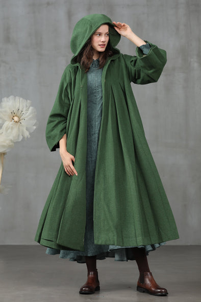Someone like you 11 | Hooded wool coat