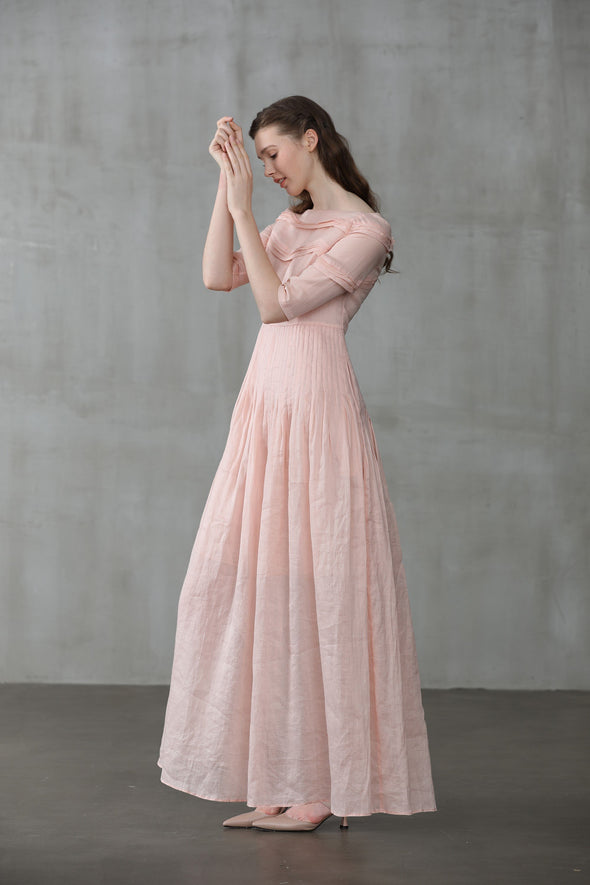 Cherry 23 | luscious pink maxi dress
