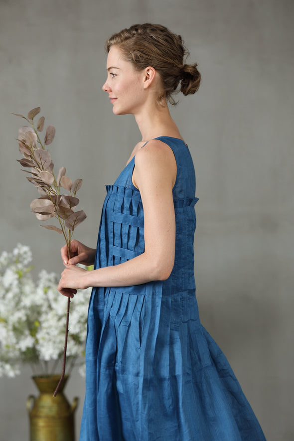 Berry 37 | maxi linen dress