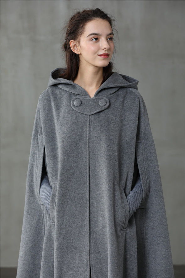 Outlander 2020 | 100% hooded coat