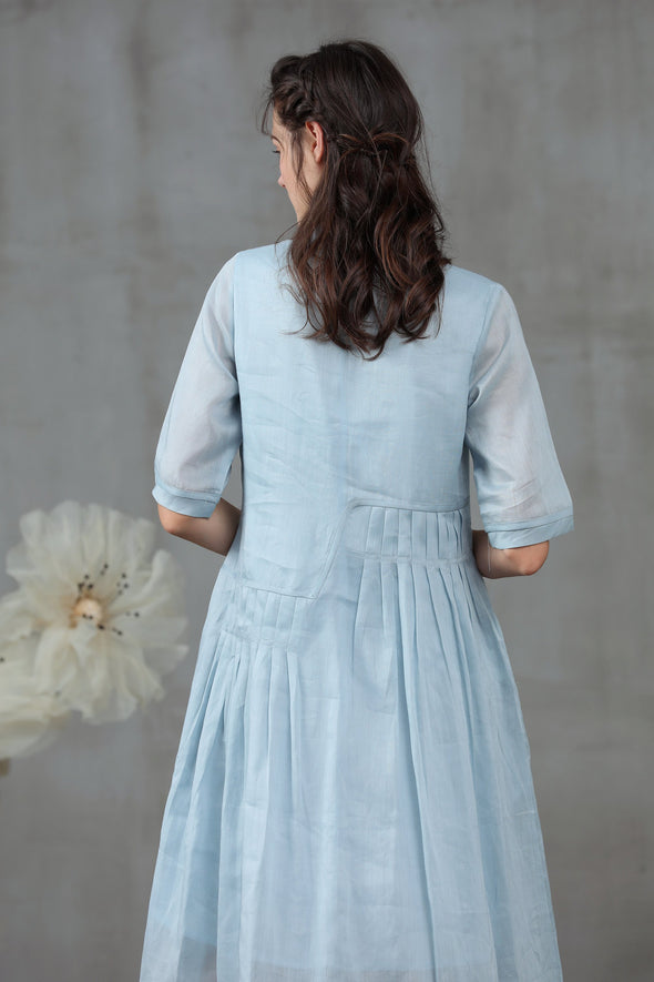 Muscari 44 | Pastel blue dress