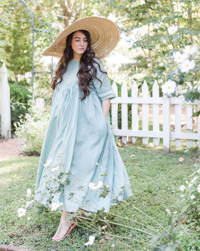 CURVE+Plus | BAIE 24 linen dress