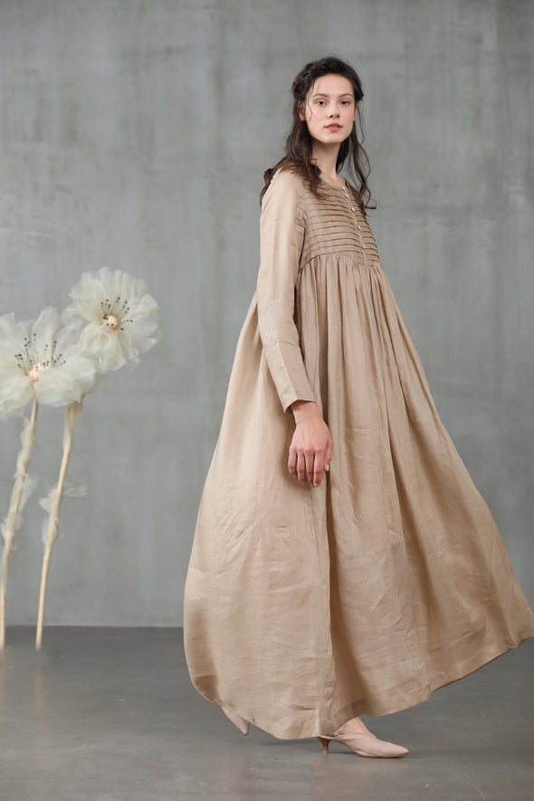 Jasmine 21 | maxi dress in champagne