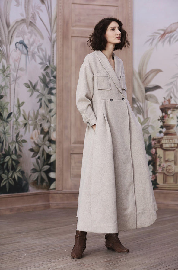 Pride and Prejudice 68 | 100% Cashmere Coat