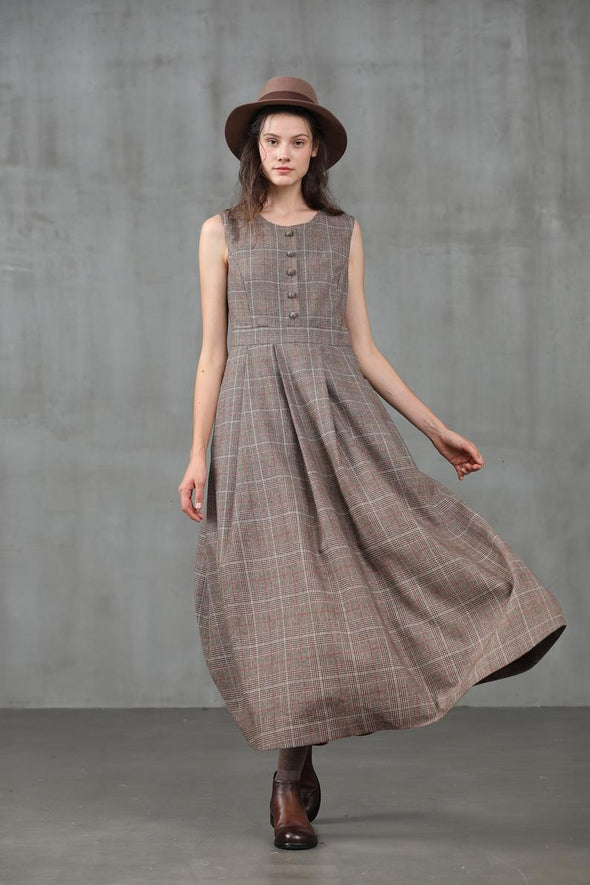 Another 13 | check wool dress