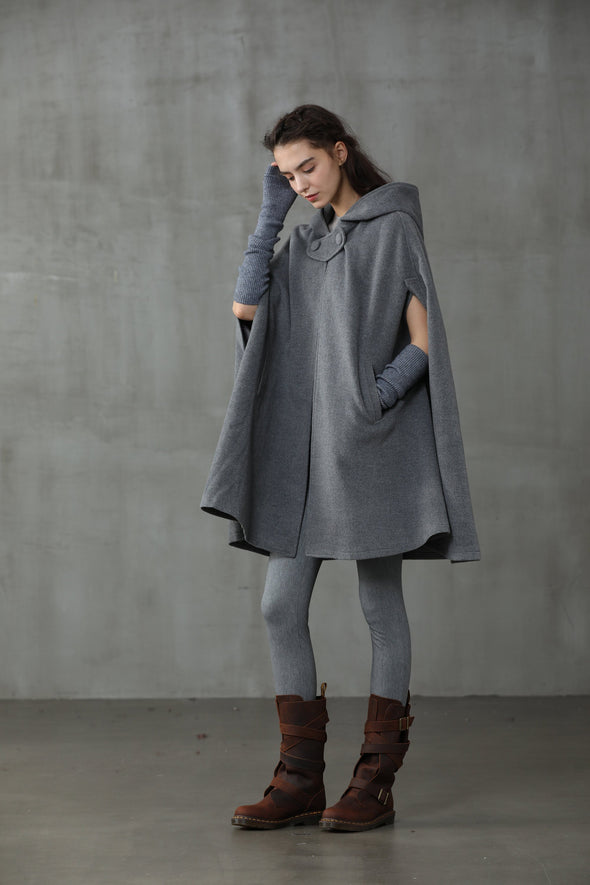 Chrismas Capsule | Wool Cape