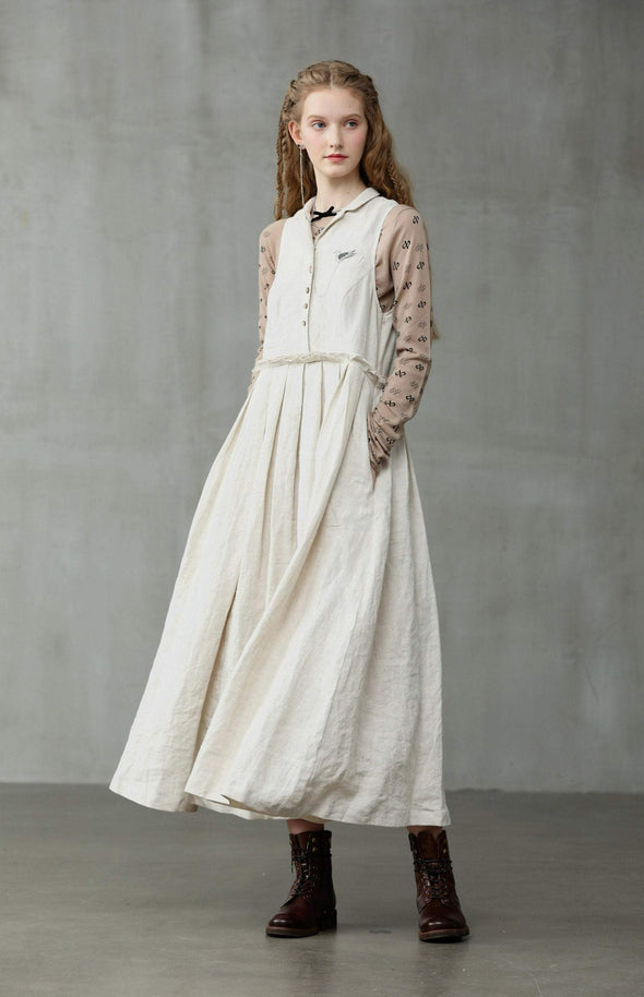 Regent Street 21 | Off white linen dress